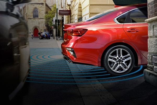 2021 Kia Forte rear sensors