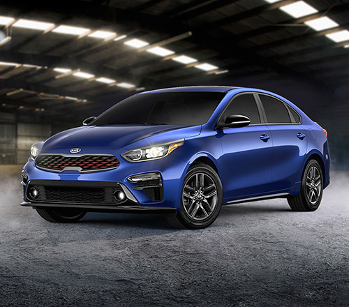 2021 Kia Forte GT-Line Three-Quarter View