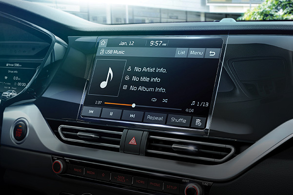 2020 Kia Niro touchscreen