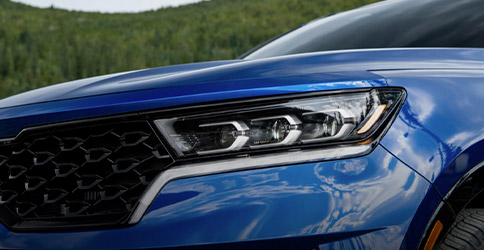 2021 Kia Sorento LED Headlight Close-Up
