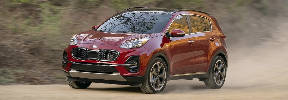 The All-New 2021 Kia Sportage header
