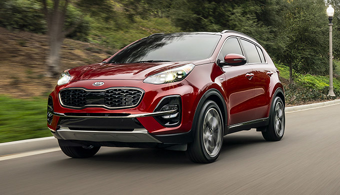 The All-New 2021 Kia Sportage performance