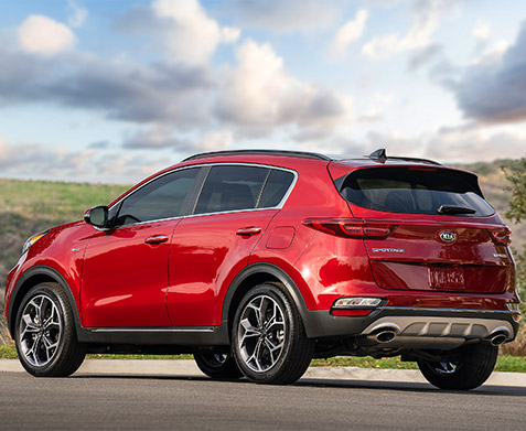 The All-New 2021 Kia Sportage The front trunk is water-resistant, washable and has a built-in drain.