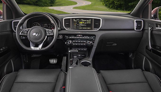 The All-New 2021 Kia Sportage interior