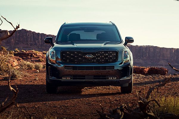 All-New 2021 Telluride Nightfall Edition - in desert.