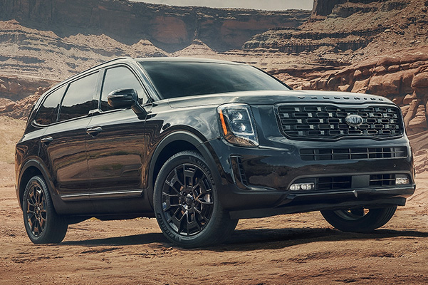All-New 2021 Telluride Nightfall Edition - exterior side