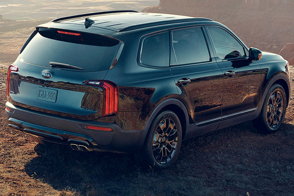 All-New 2021 Telluride Nightfall Edition - Gloss Black Exterior Trim