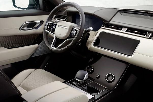 Range Rover Velar interior.