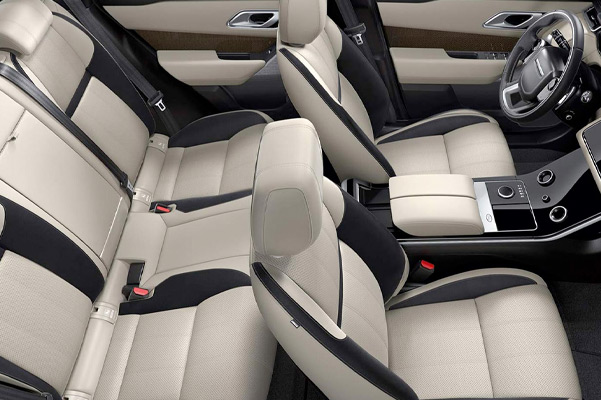 Range Rover Velar seating.