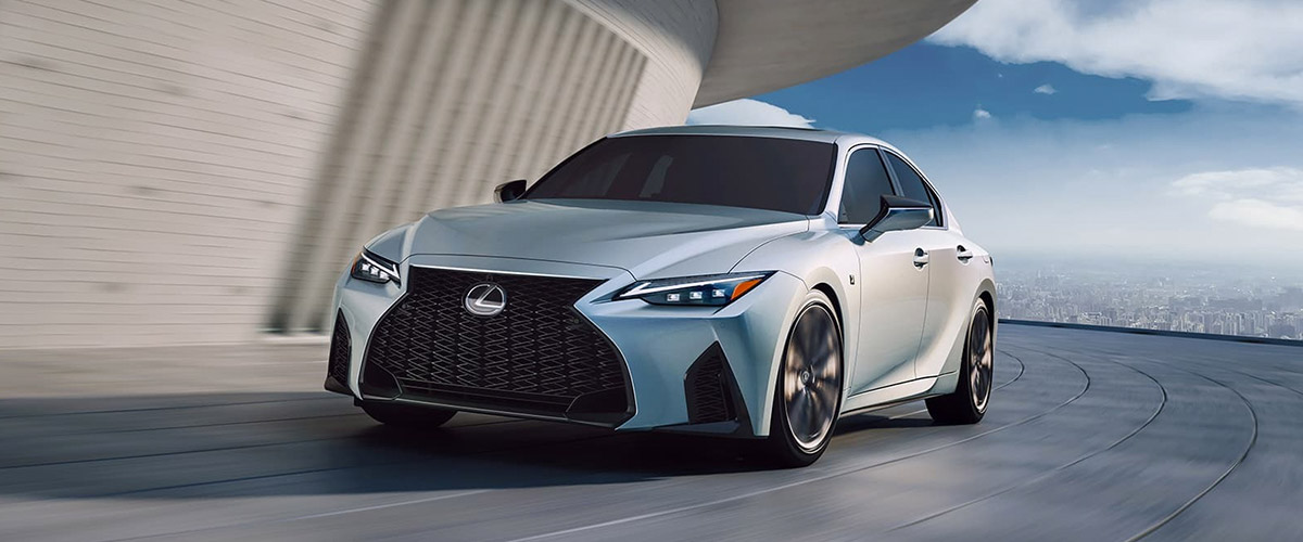 2021 Lexus IS in action