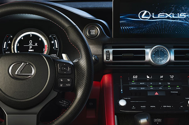 2021 Lexus IS Interior Console