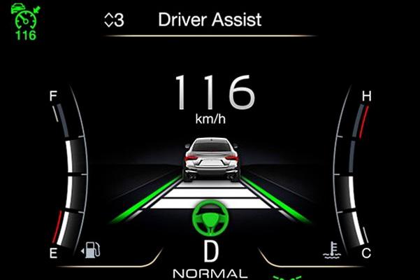 2021 Maserati Ghibli driver dash