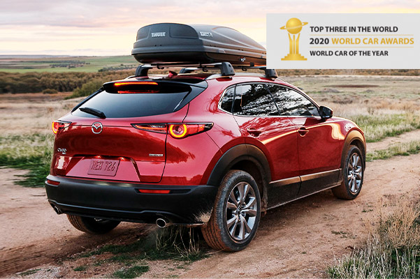 Cx-30 with 2020 World Car Awards