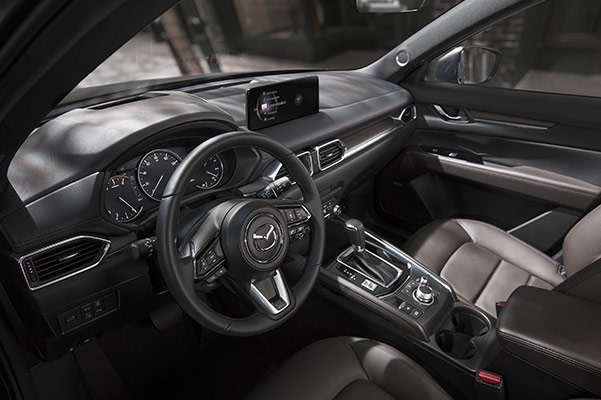2021 Mazda CX-5 dashboard