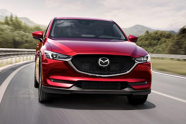 2021 Mazda CX-5 front