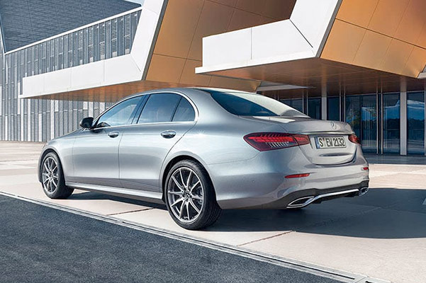 2021 Mercedes-Benz E-Class Rear view