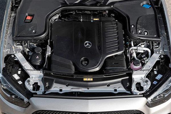 2021 Mercedes-Benz E-Class Engine