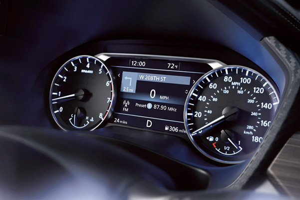 Nissan Altima dashboard