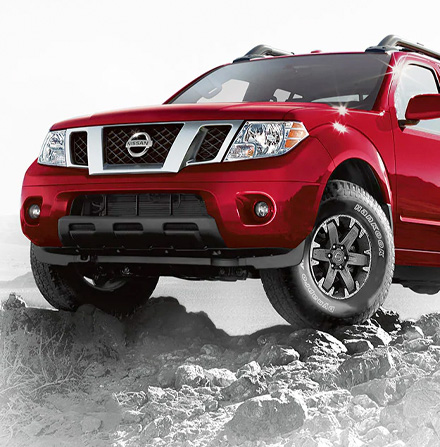 2021 Nissan Frontier 16 inch aluminum-alloy wheel with all-terrain tire
