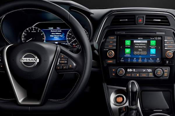 2021 Nissan Maxima D-shaped steering wheel