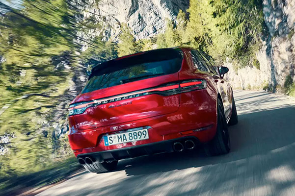 2021 Porsche Macan rear view