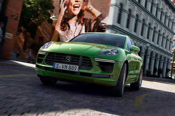 2021 Porsche Macan low front view