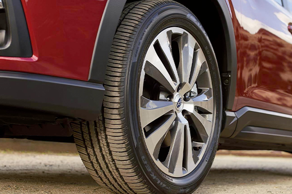 Subaru Image: Available 20-inch alloy wheels