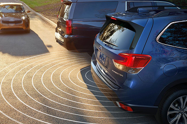 2021 Subaru Forester rear cross traffic alert