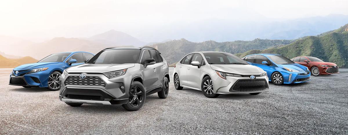 2021 Toyota lineup