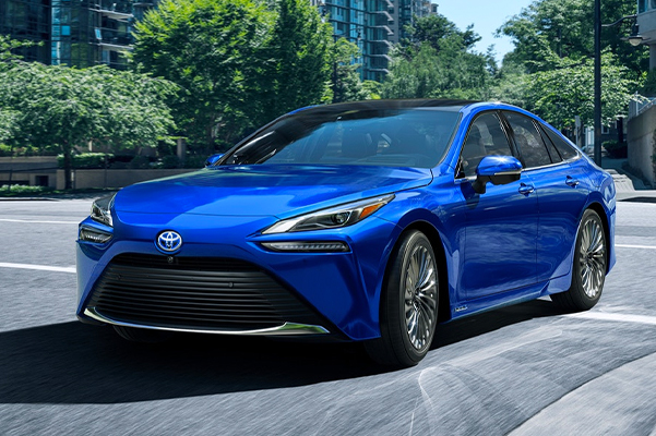 Limited shown in Hydro Blue with available 20-in. Super Chrome aluminum alloy wheels.