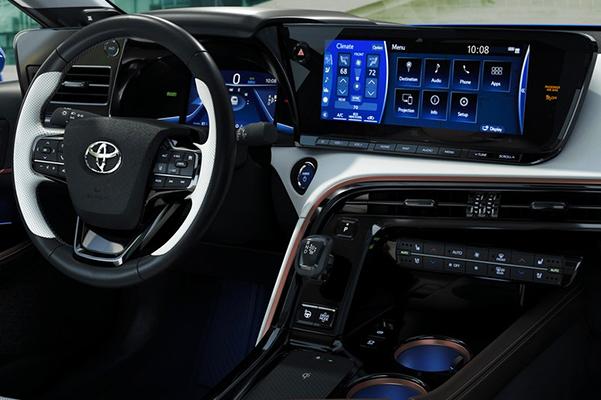 Limited interior shown in White SofTex® trim.