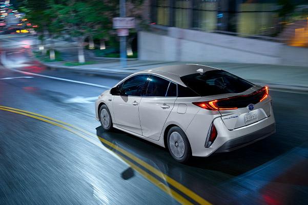 2021 Toyota Prius Prime Rear View