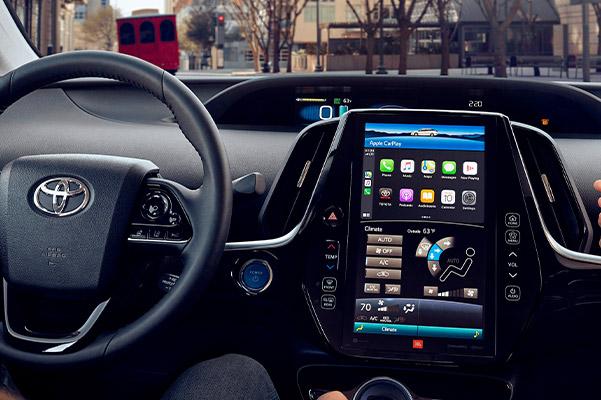 2021 Toyota Prius Prime Dashboard