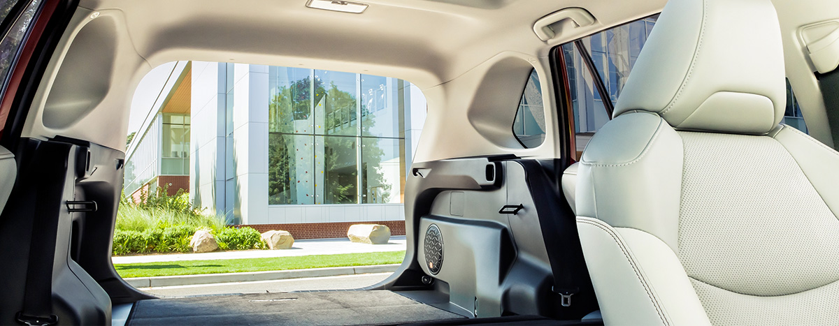 2021 Toyota Rav4 rear cargo space