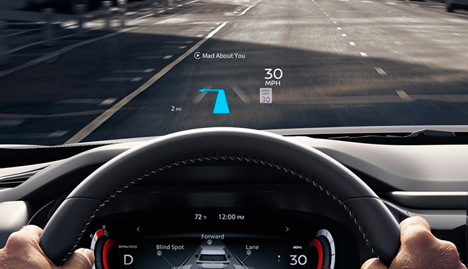 2022 Nissan Pathfinder dashboard