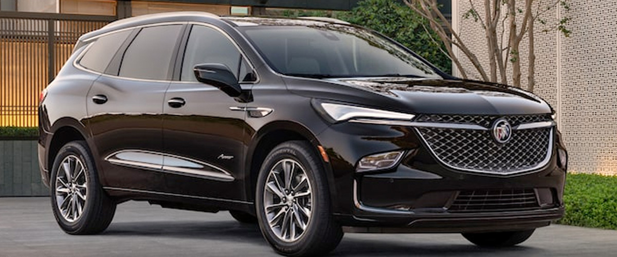 2022 Buick Enclave New SUV Front Side Exterior