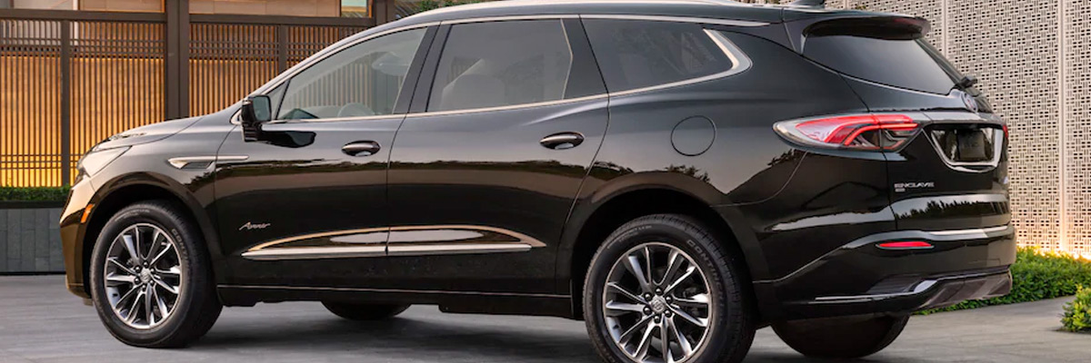 2022 Buick Enclave New SUV Rear Side Exterior
