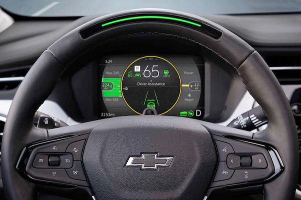 2022 Chevy Bolt EUV Steering wheel
