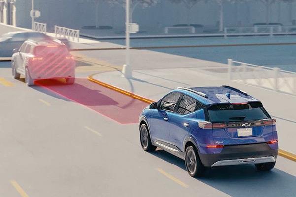 Auto braking of 2022 Chevy Bolt EUV