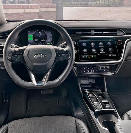 Bolt EV Interior Photo: Dashboard