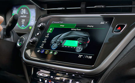 Bolt EV Interior Photo: Infotainment System
