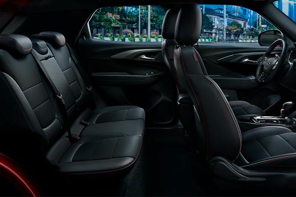 2022 Chevrolet Trailblazer SUV Interior Side Shot of Front & Backseats