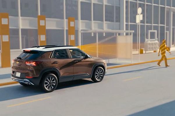 2022 Chevrolet Trailblazer SUV Safety Assist Feature: Front Pedestrian Braking