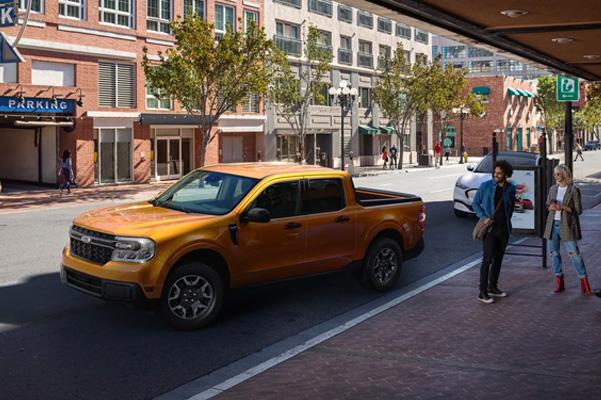 2022 Maverick Parking on city street