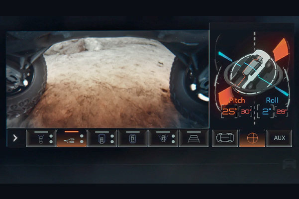 2022 HUMMER EV under body camera
