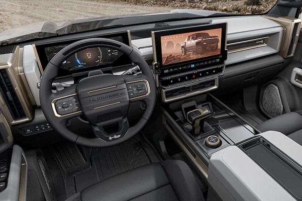 2022 HUMMER EV dashboard