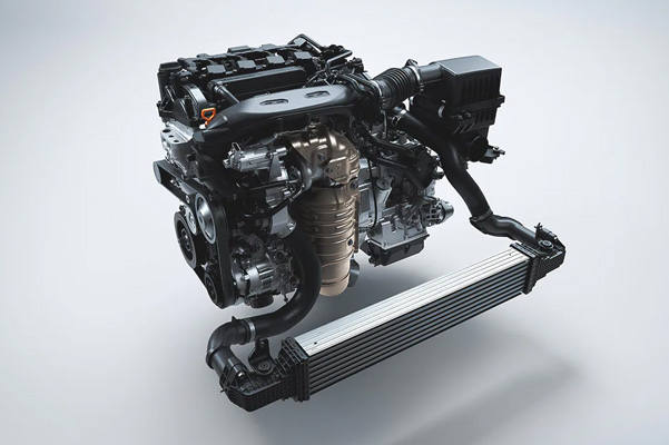 Tourbocharged Engine standard on EX and Touring