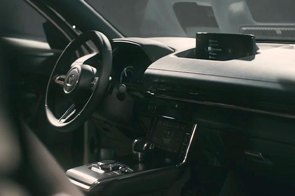 2022 MAZDA MX-30 interior dashboard