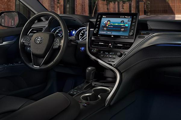 2022 Toyota Camry Dashboard