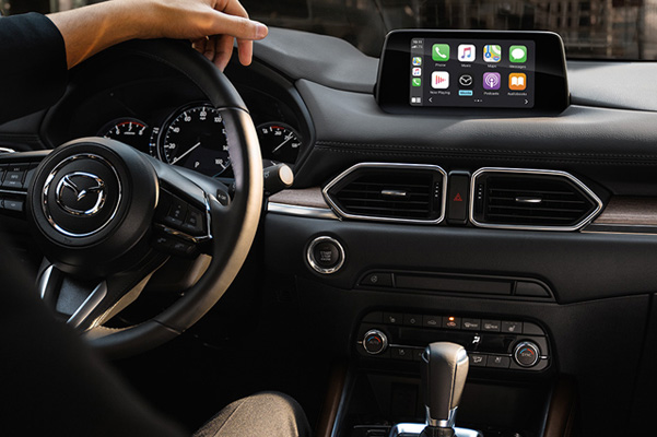 interior of Mazda CX-5